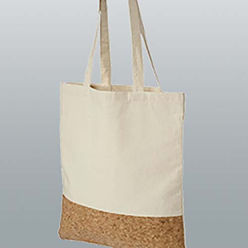 Cork Cotton Shopper