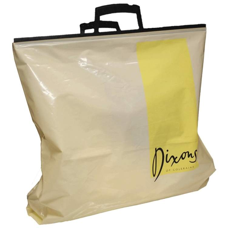 Clip Close Carrier Bag