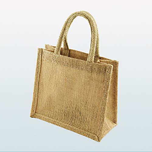 Mini Jute Shopper Bag