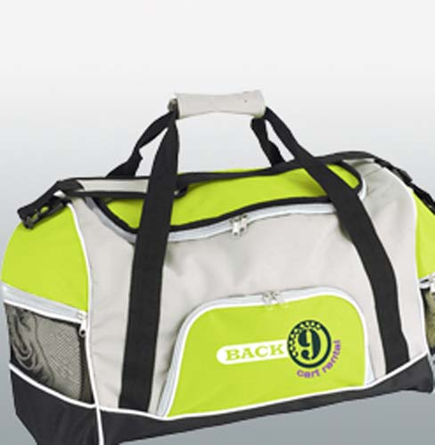 Tri-Pocket Sports Bag