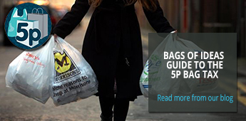 Click here to read our blog on the 5p plastic bag charge and how your business can benefit